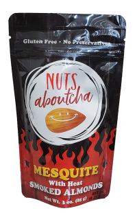Nutsaboutcha mesquite with heat smoked almonds